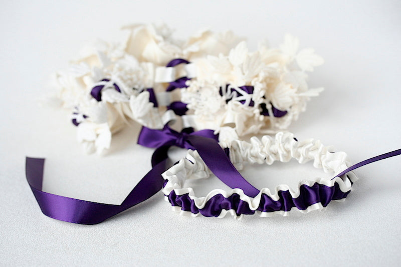 purple-corset-wedding-garter-The-Garter-Girl