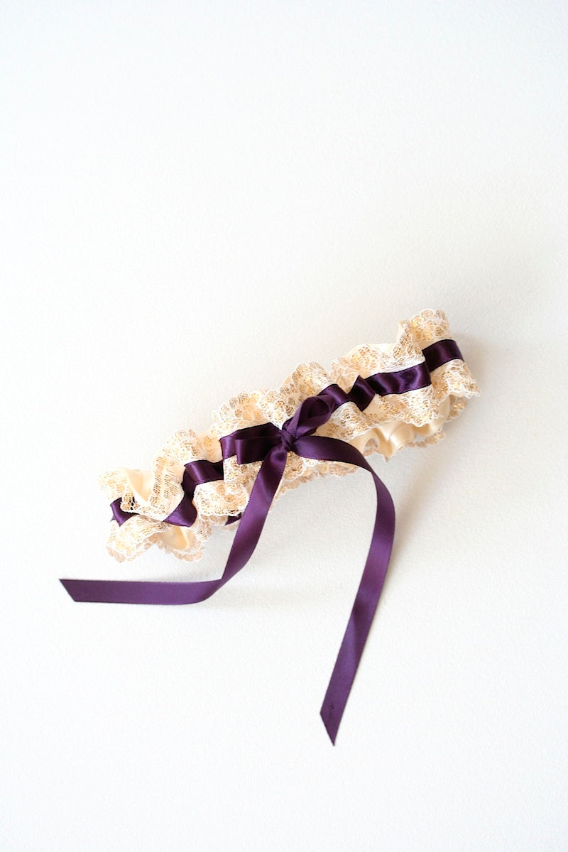 purple-gold-lace-custom-wedding-garter-the-garter-girl-2