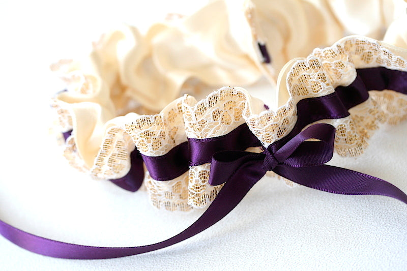 purple-gold-lace-custom-wedding-garter-the-garter-girl