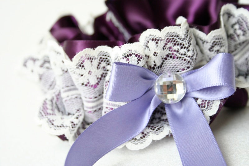 purple-lace-sparkle-wedding-garter-The-Garter-Girl