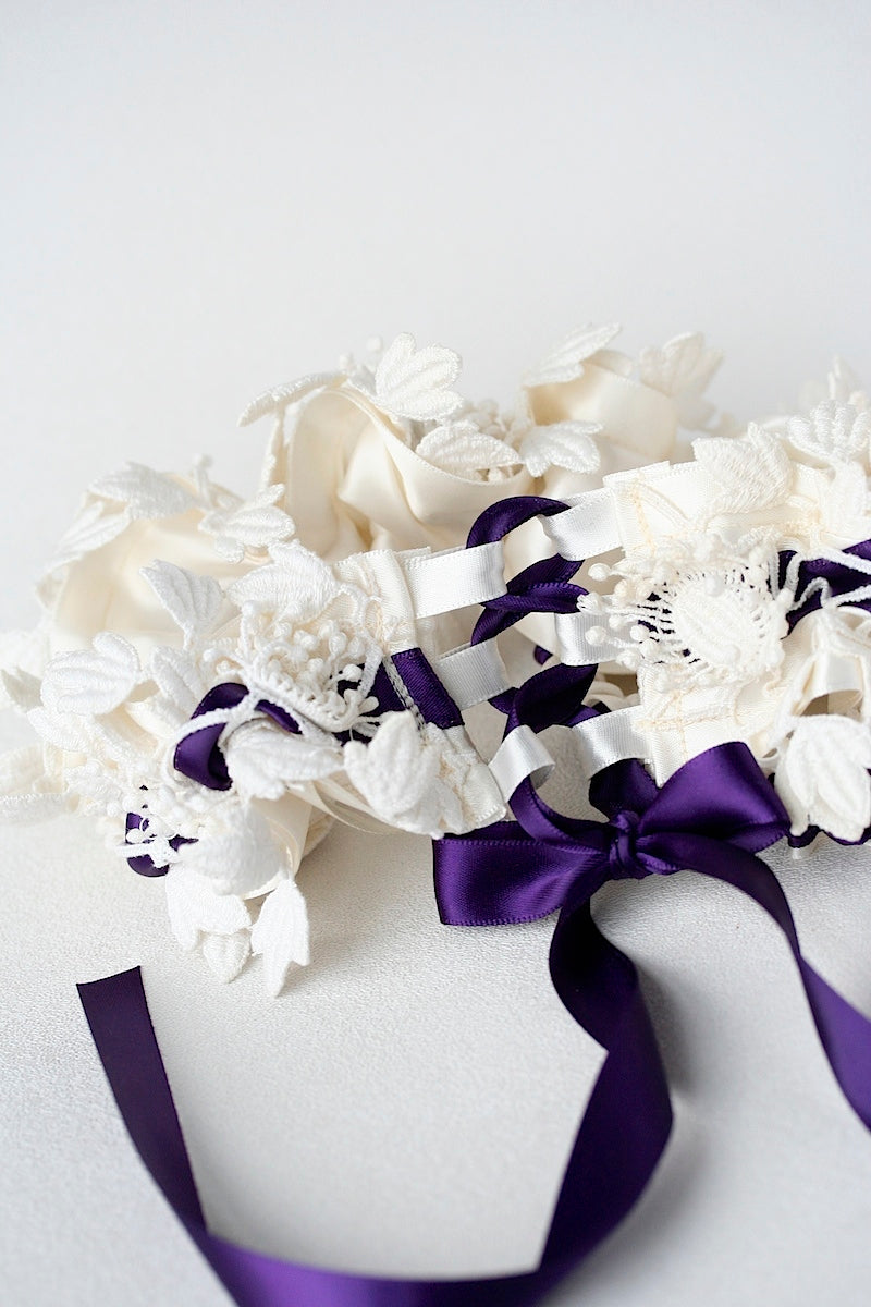 purple-lace-wedding-garter-The-Garter-Girl
