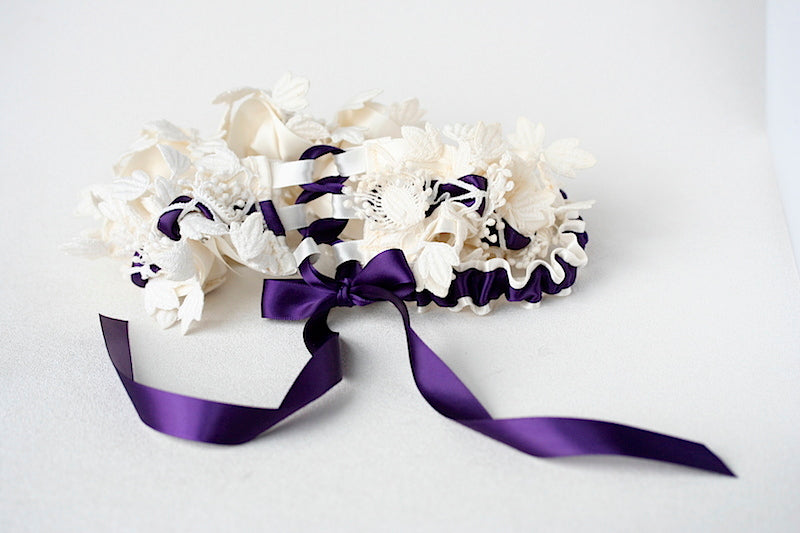purple-wedding-garter-The-Garter-Girl
