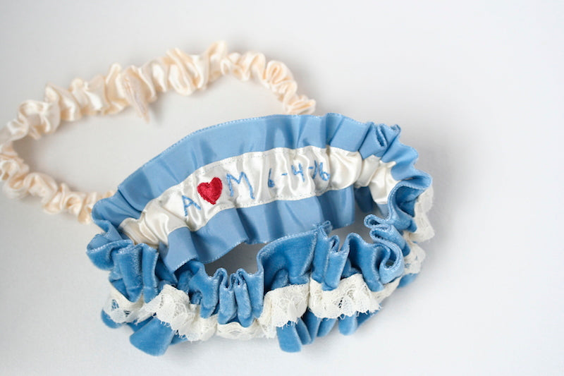 something-blue-velvet-wedding-garter-The-Garter-Girl-4