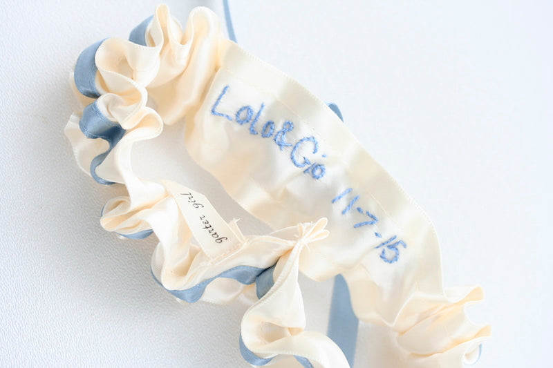 something-embroidered-wedding-garter-The-Garter-Girl-2
