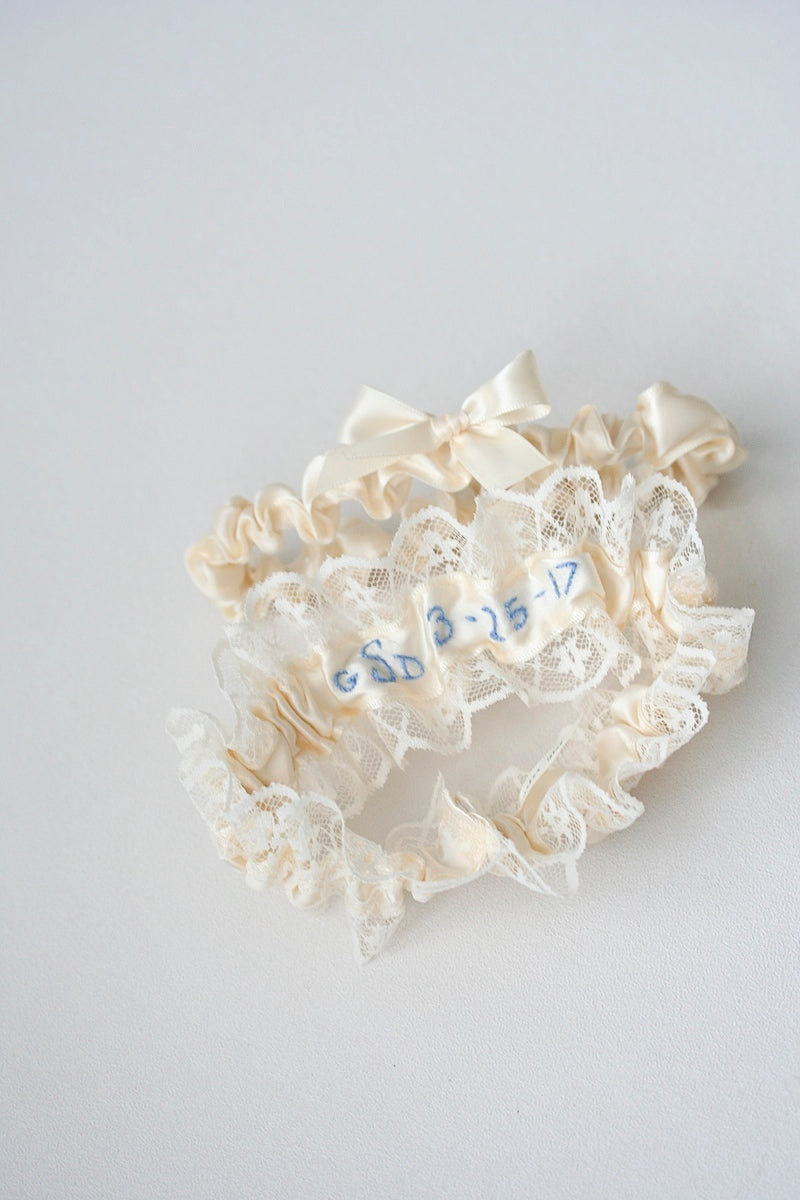 wedding-date-custom-bridal-garter-The-Garter-Girl