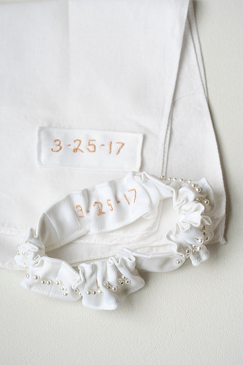 wedding-garter-hanky-made-from-wedding-dress-The-Garter-Girl-5