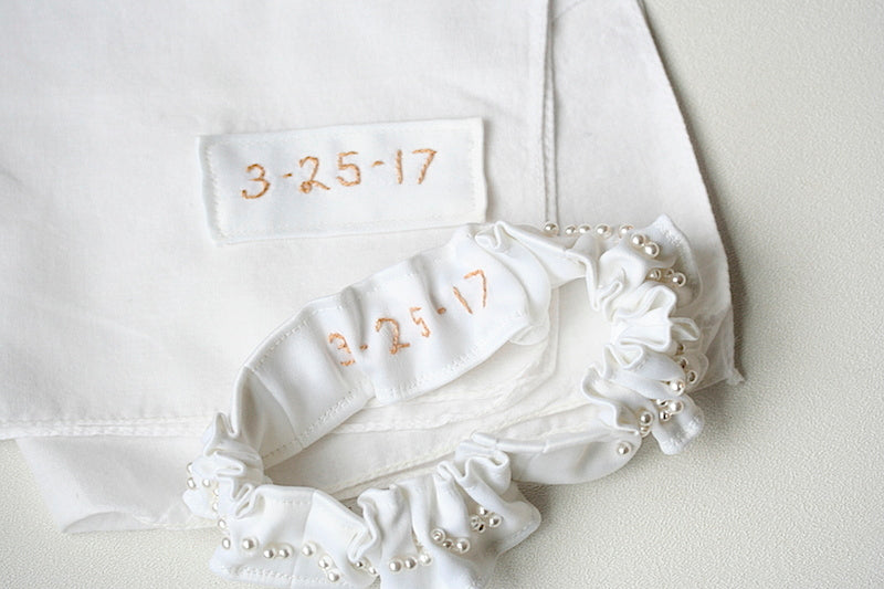 wedding-garter-hanky-made-from-wedding-dress-The-Garter-Girl-6