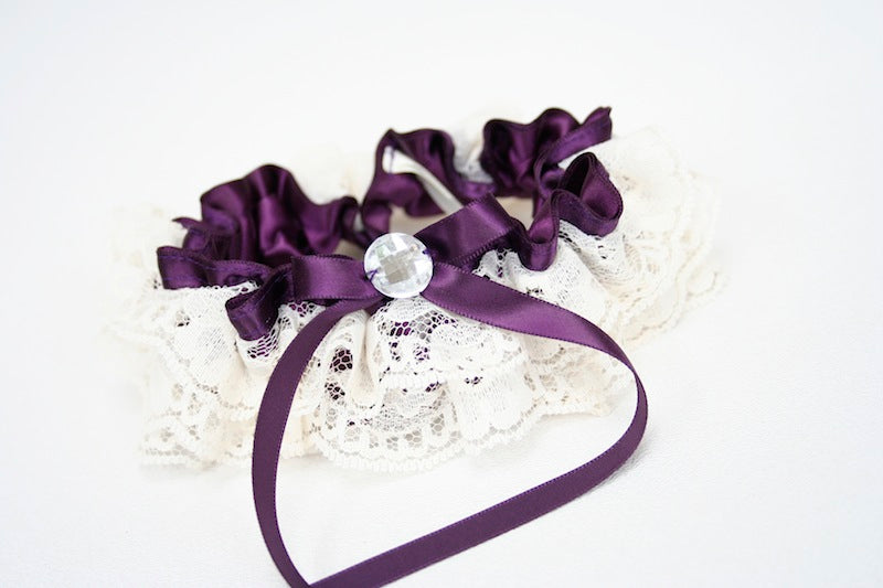 wedding-garter-purple-ivory-lace-The-Garter-Girl 9.19.46 PM