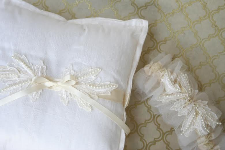 wedding-garter-ring-pillow-vintage-lace-The-Garter-Girl