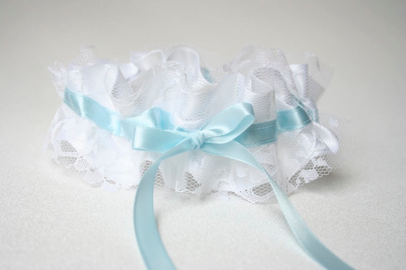 wedding-garter-white-lace-something-blue-The-Garter-Girl