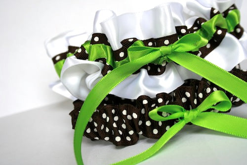 white-wedding-garter-set-polka-dot-The-Garter-Girl-by-Julianne-Smith