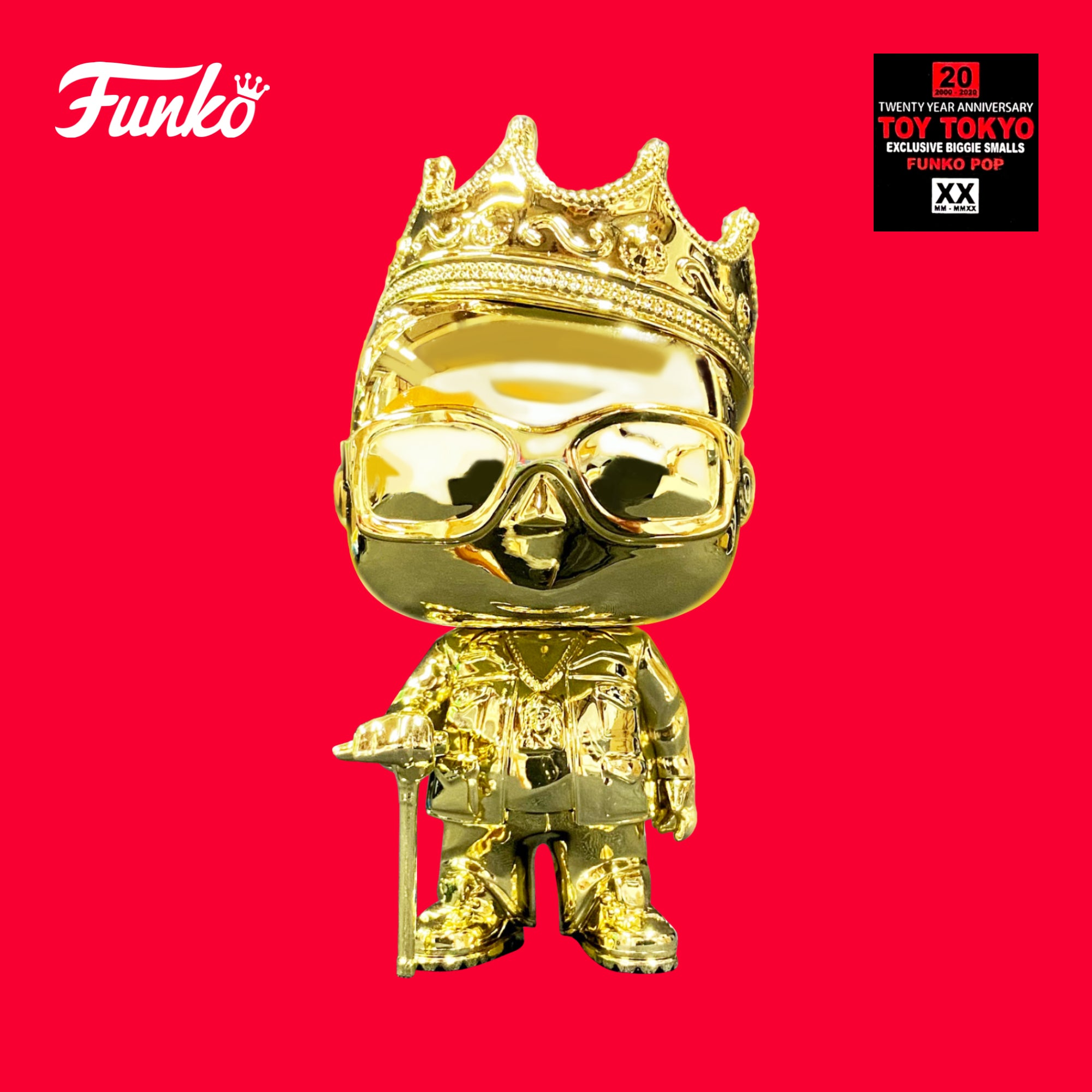 Funko Pop - The Notorious B.I.G. Smalls 20th (Gold)