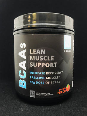 LEAN MUSCLE SUPPORT BCAA (GEORGIA PEACH)