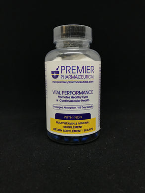 VITAL PERFORMANCE (W/IRON) MULTI-vitamin