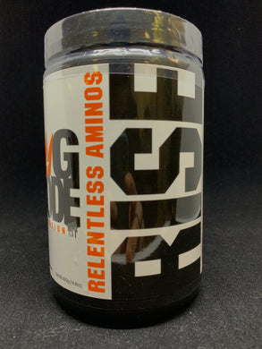 RISE Relentless amino acids (Code Orange)