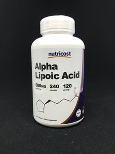 ALPHA LIPOIC ACID (600MG 120 SERV)
