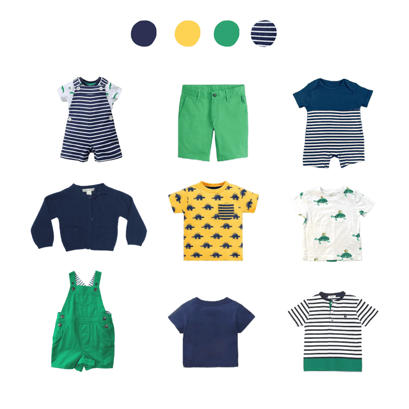 Summer Preloved Baby Clothes