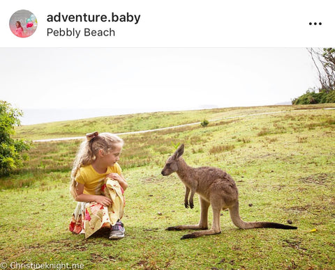 Adventure Baby Instagram Post