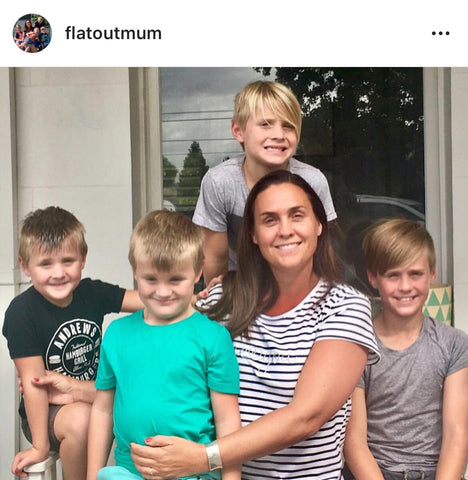 Flat Out Mum Instagram Post