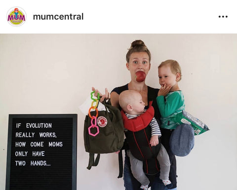 Mum Central Instagram Post