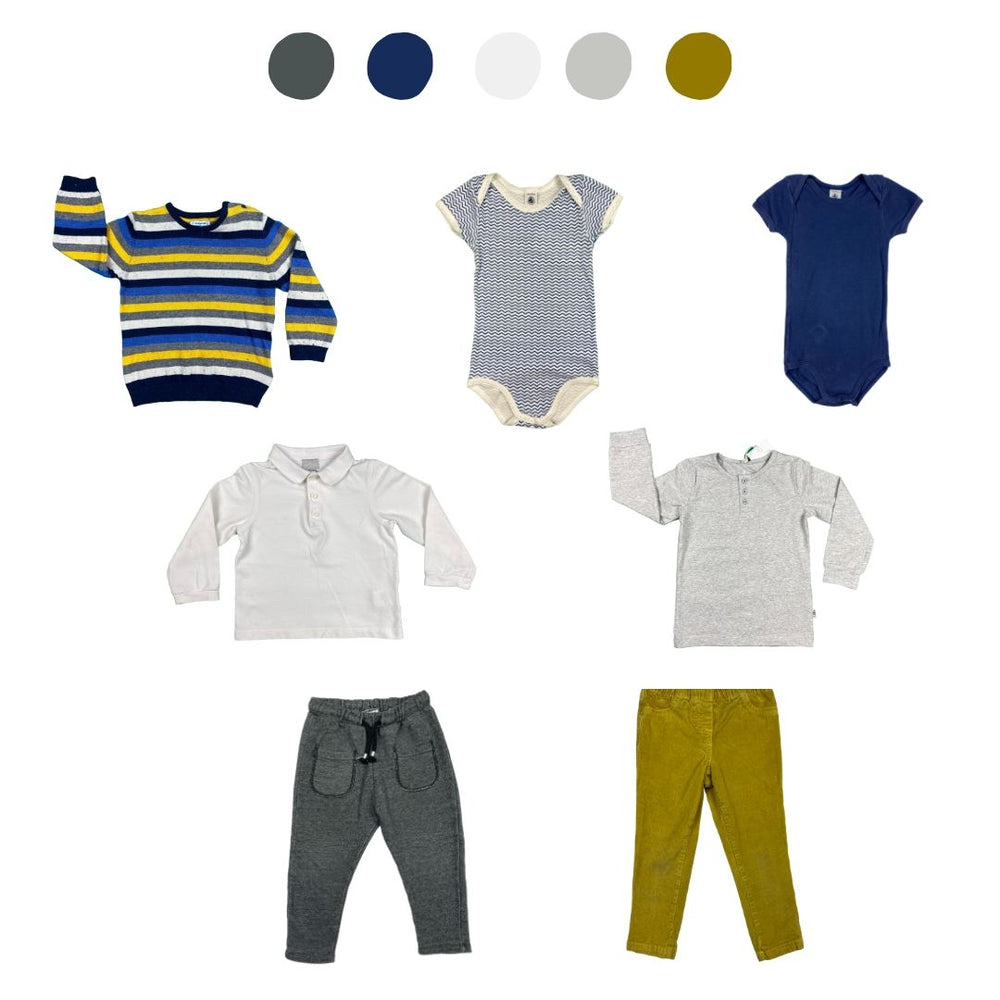 'Do You Have Anything Less...Blue?' 7 piece Wardrobe: 2 - 3 years