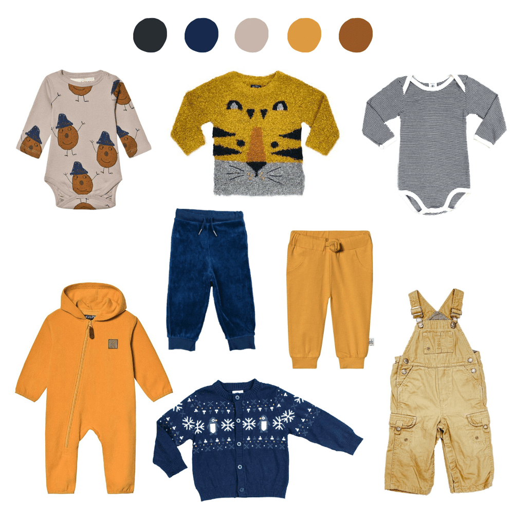 'They Thrive Like Wildflowers' 8 Piece Capsule: 12-18 months