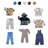 'Days Are Meant For Play' 8 piece Capsule Wardrobe: 12 - 18 months