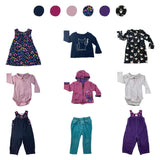 'All You Need Is Pink' 9 piece Capsule Wardrobe: 12 - 18 months