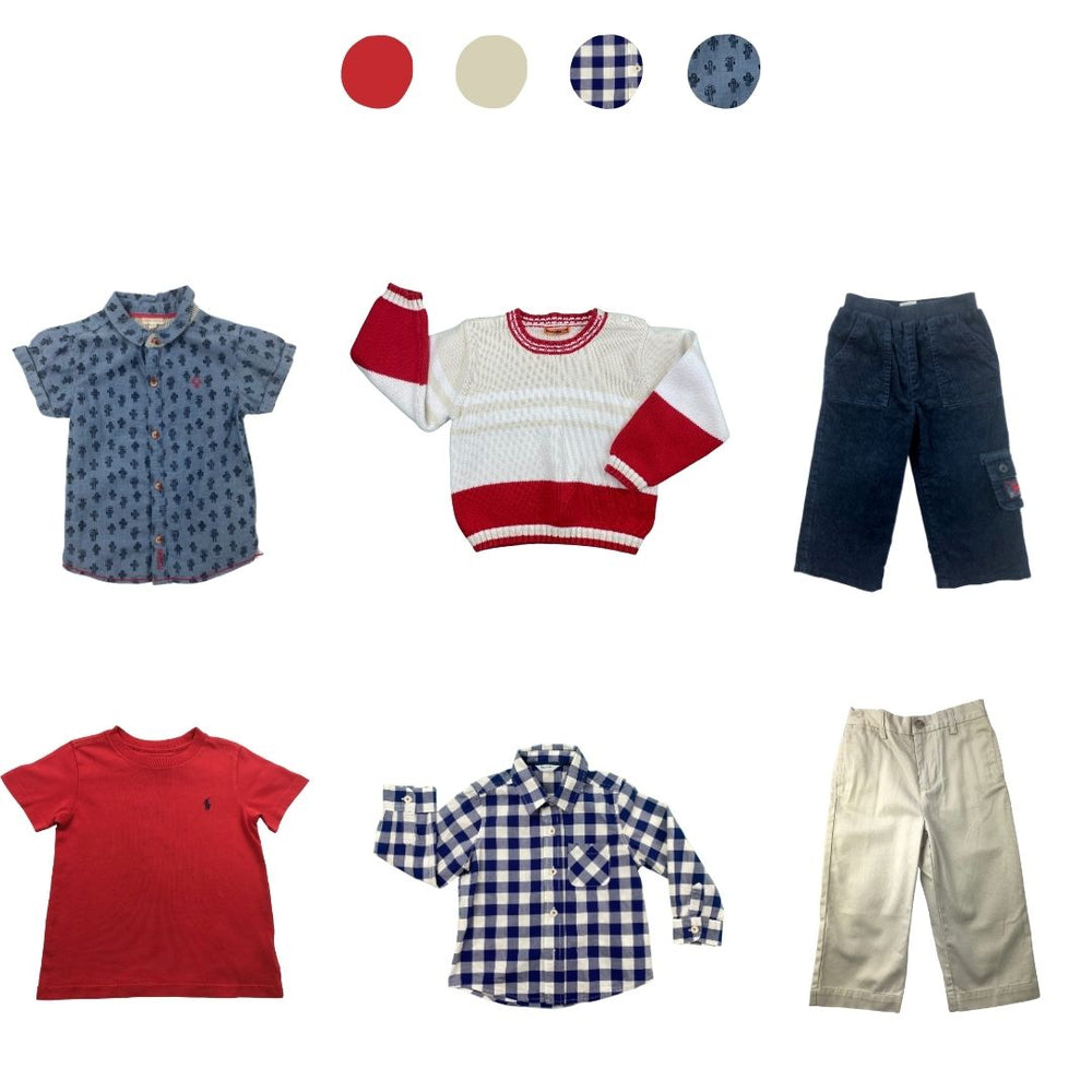 'Memories Are Made of This' 6 piece Capsule Wardrobe: 18 - 24 months