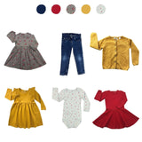 'Wild At Heart' 6 piece Capsule Wardrobe: 18 - 24 months