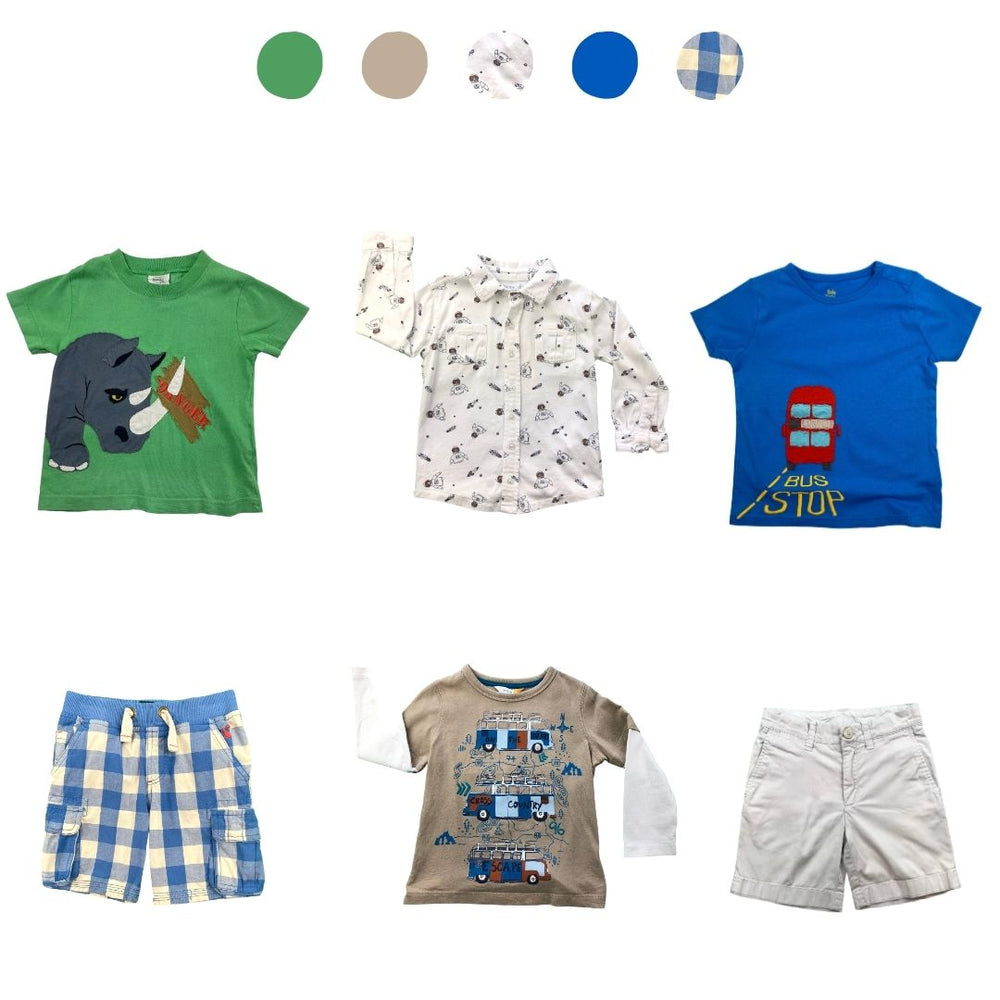 'Days Are Meant For Play' 6 piece Capsule Wardrobe: 2 - 3 years