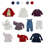 'Rainbow Splash' 10 piece Wardrobe: 6 - 12 months
