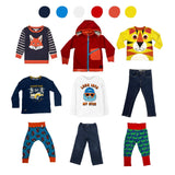 'Days Are Meant For Play' 9 piece Wardrobe: 2 - 3 years