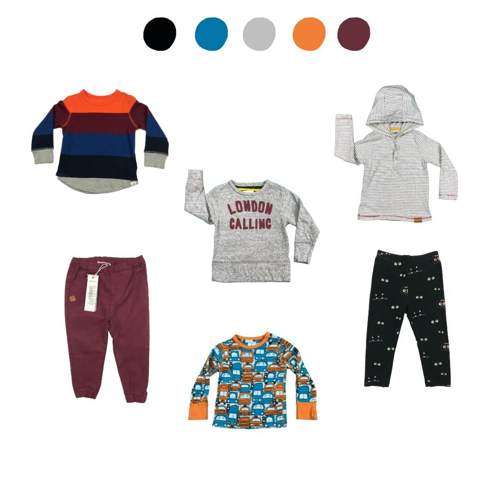 'Days Are Meant For Play' 6 piece Wardrobe: 12 - 18 months
