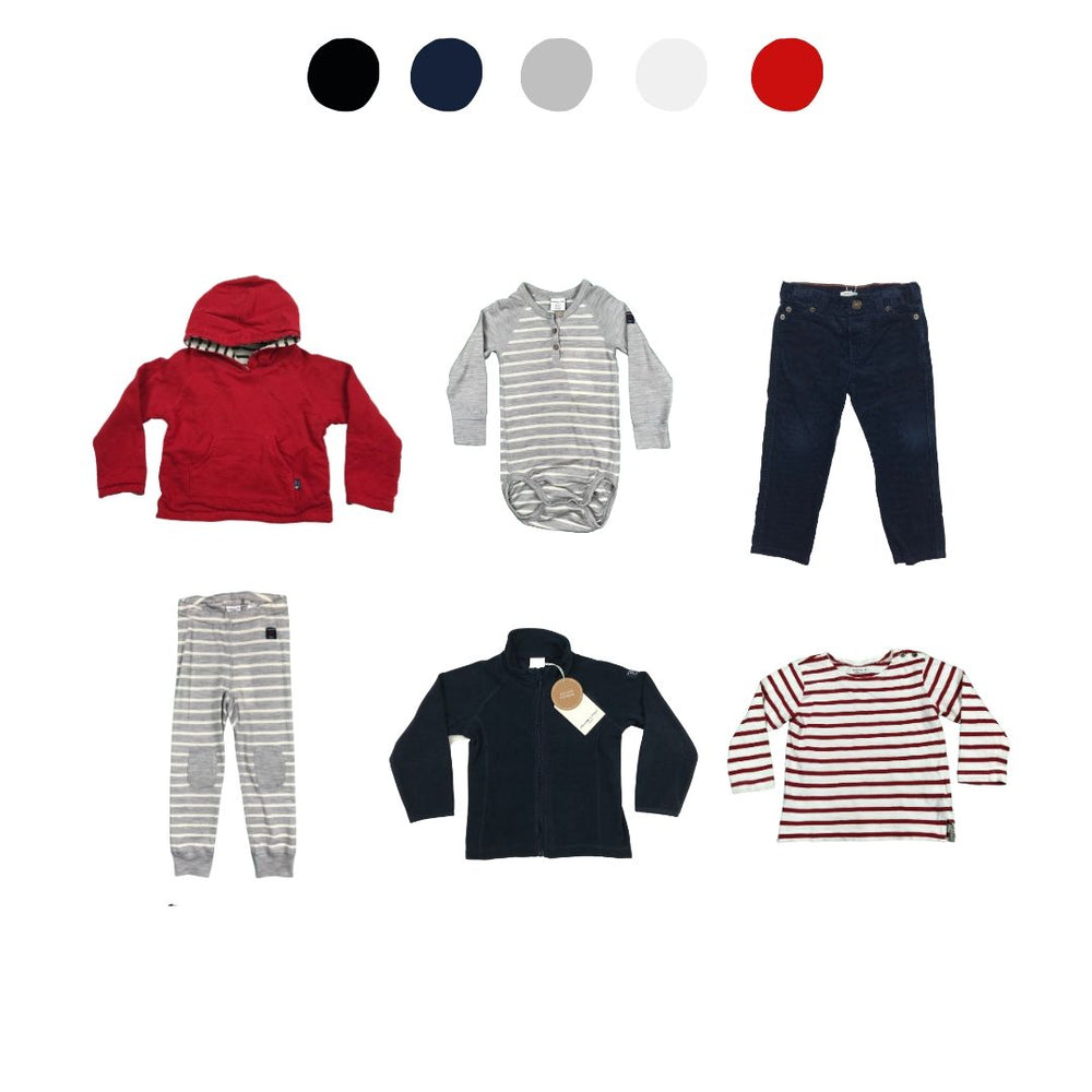 'Memories Are Made Of This ' 6 piece Wardrobe: 18 - 24 months