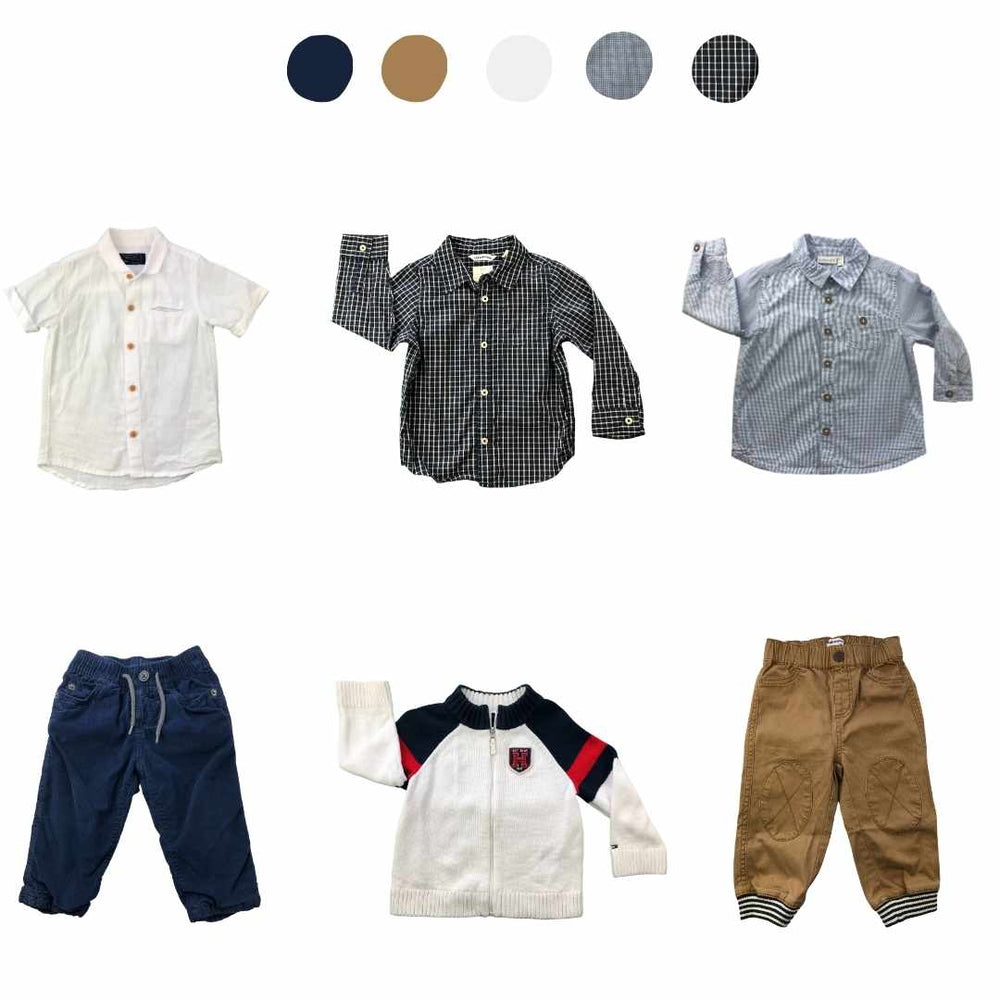 'Memories Are Made of This' 6 piece Capsule Wardrobe: 12 - 18 months