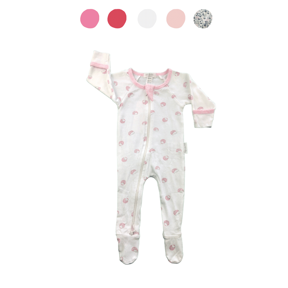 'All You Need Is Pink' 8 piece Capsule Wardrobe: Newborn