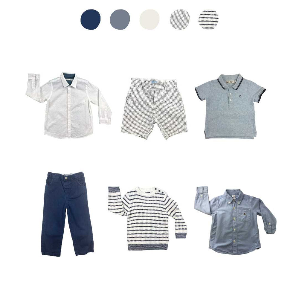 'Head In the Clouds' 6 piece Capsule Wardrobe: 2 - 3 years