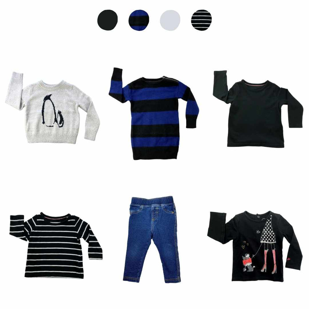 'Wild At Heart' 6 piece Capsule Wardrobe: 12 - 18 months
