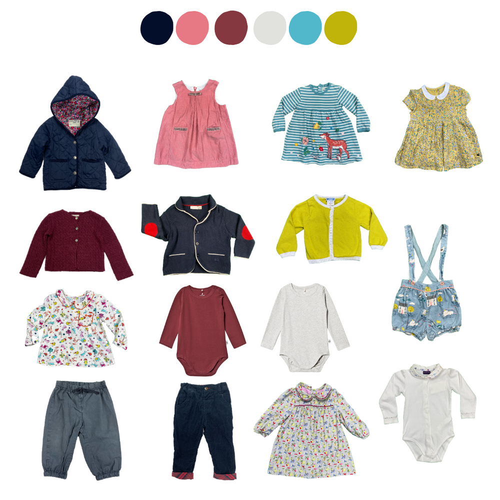 'Do You Have Anything Less...Pink?' 15 Piece Capsule: 12-18 months
