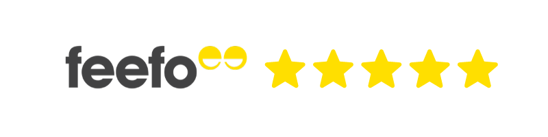 Feefo Reviews 5 star