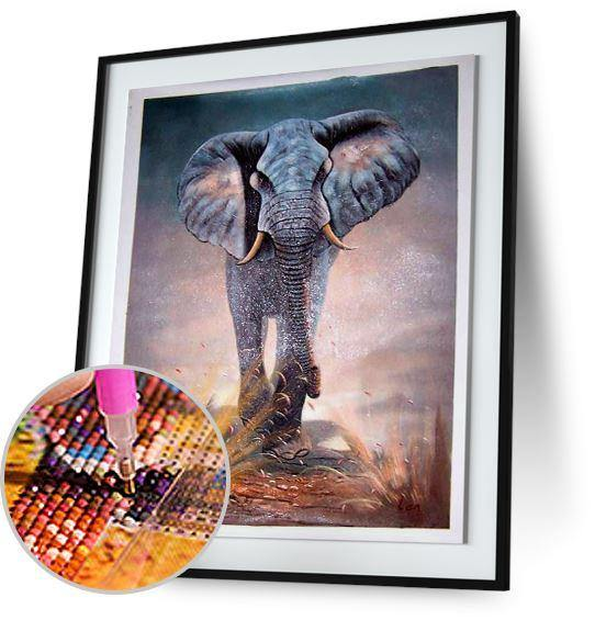 African Elephant 5DArtist