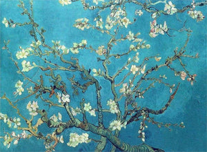 Almond Blossom - by Vincent van Gogh - Diamond Painting Kit