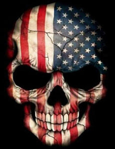American Skull - Special Offer - Diamond Painting Kit