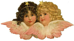 Angel Two Heads - Diamond Painting Kit