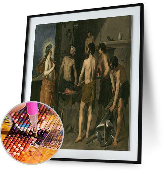 Apollo in the Forge of Vulcan - by Diego Velazquez 5DArtist