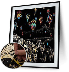 Balloon Night - Scratch Art - Special Offer 5DArtist
