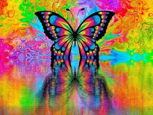 Butterfly Energy - Diamond Painting Kit