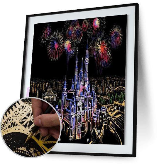 Castle of Dreams - Scratch Art - Special Offer 5DArtist