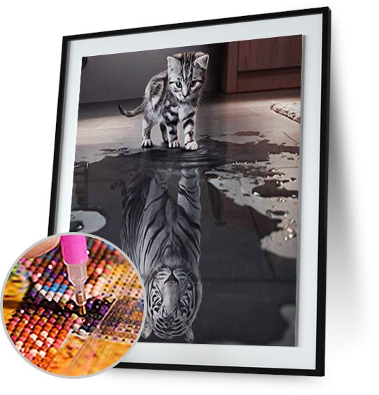 Cat and Tiger - Special Offer Freeplus 5DArtist